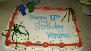 Lovina's family celebrated daughter Verena's 17th birthday with a surprise party.