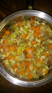 The Eicher family enjoyed ham and bean soup recently on a cold evening and this week Lovina shares the recipe with readers.