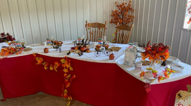 Wedding Celebration and Gratitude for Help